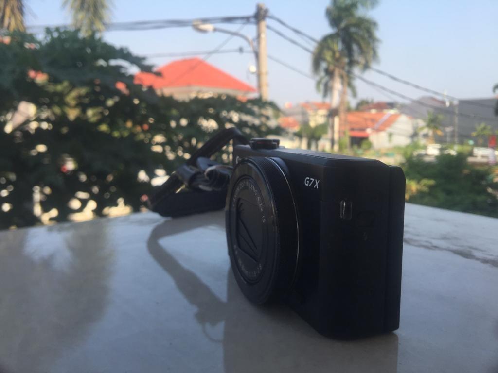 Canon Powershot G7X Mark II Fullset