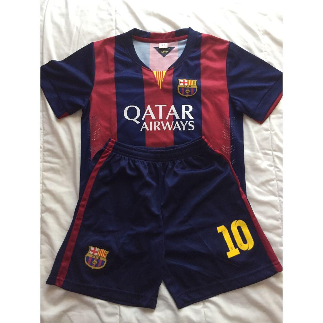 FC Barcelona Messi Youth Kit
