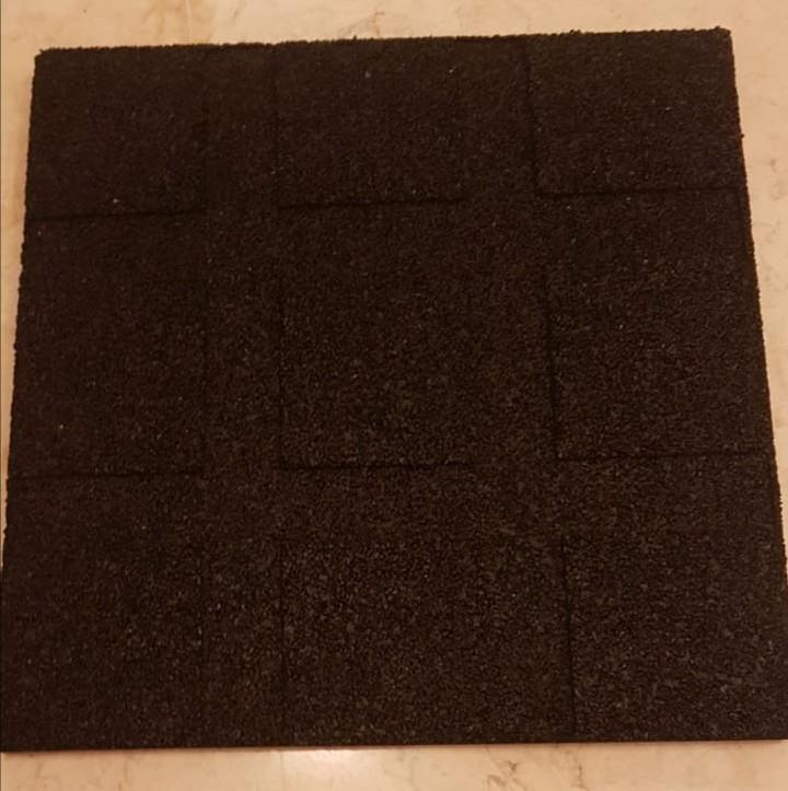 Floor mat for working out 2 sets