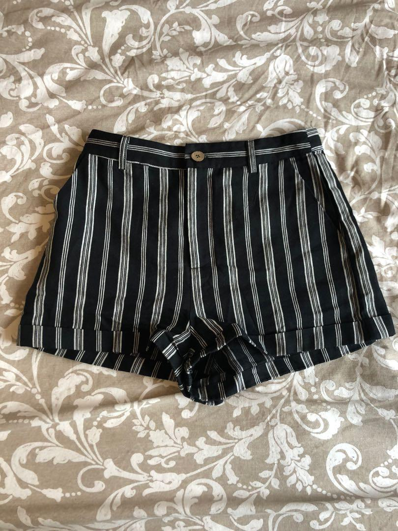 Forever 21 Stripped Shorts
