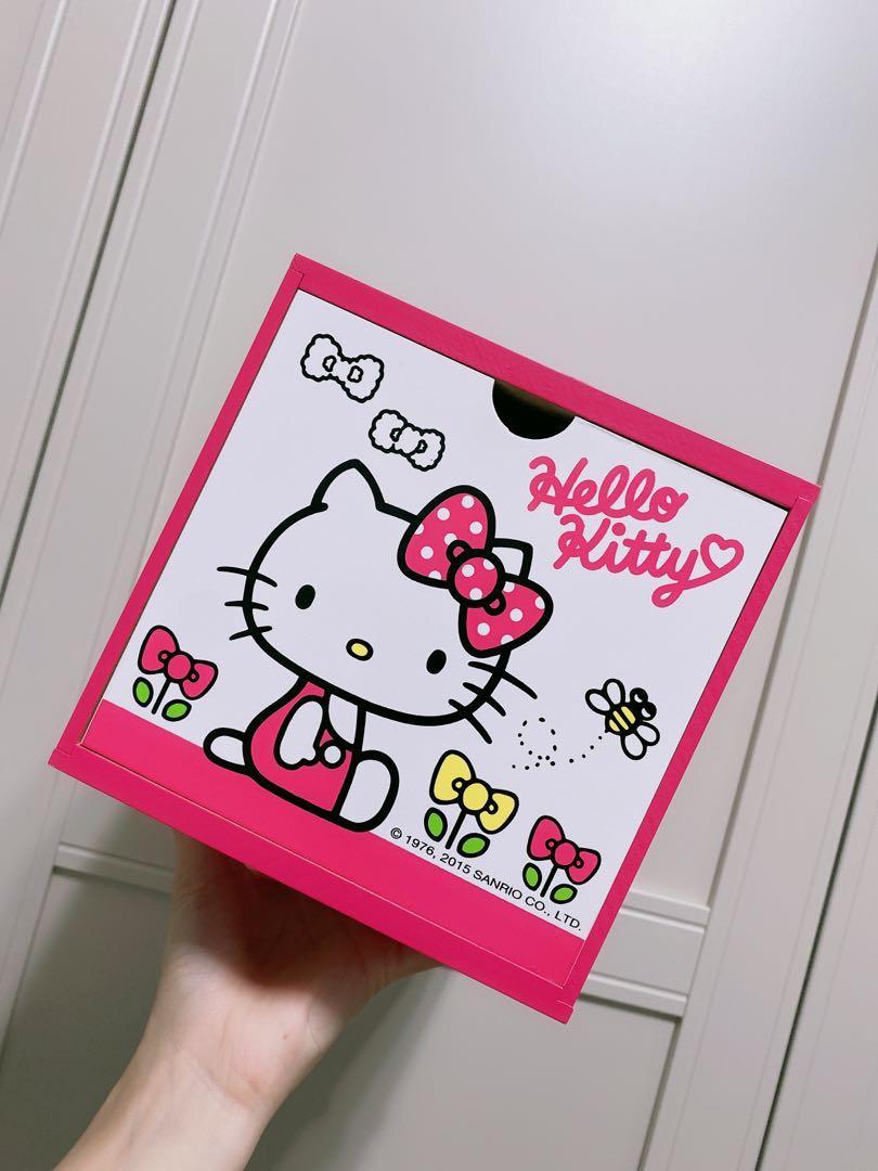 Hello kitty小置物箱