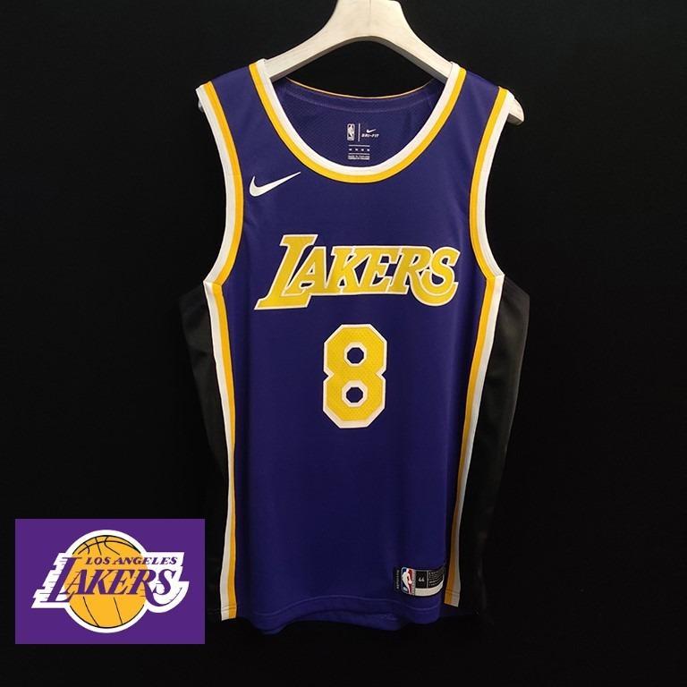Iconic LA Lakers Black Mamba Kobe Bryant Purple Authentic jersey ...