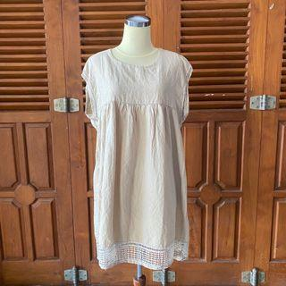 Korean oversized summer dress