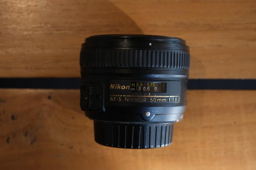 Lensa Nikon AF-S Nikkor 50mm F1.8 Nego sampai jadi