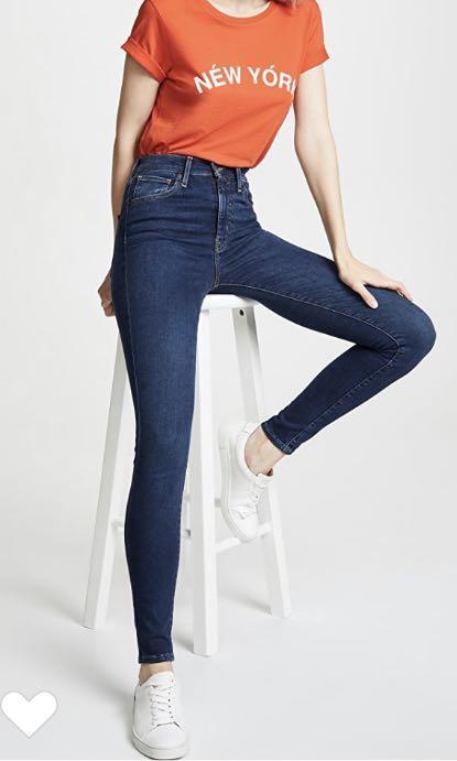 Levi's Mile High Skinny Jeans