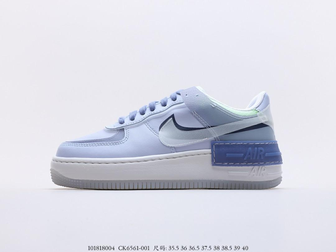 Nike Wmns Air Force 1 Shadow Se Ghost World Indigo Women S Fashion Shoes Sneakers On Carousell Nike кеды nike air force 1 lv8 5. nike