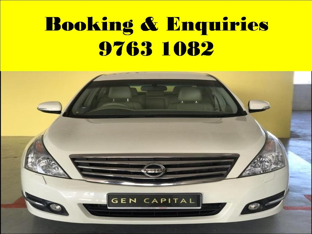 Nissan Sylphy ! Mid-week Budget and cheap rental promotion price ! Deposit only @ $500 . Whatsapp 9763 1082 to reserve yours now !