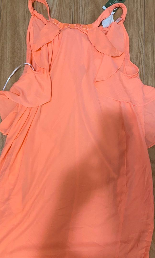 Pink dress size 12 new