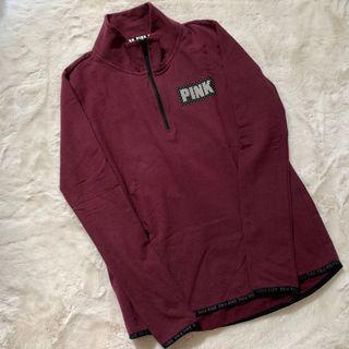 PINK VICTORIA SECRET (hoodie maroon)