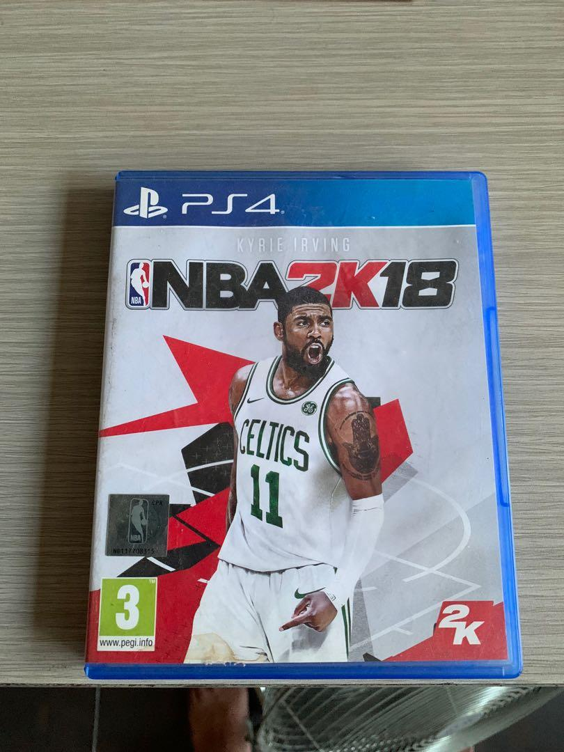 PS4 NBA 2K18 2018 Games Original Second CD Kaset PS 4 Playstation 4 BD Mulus