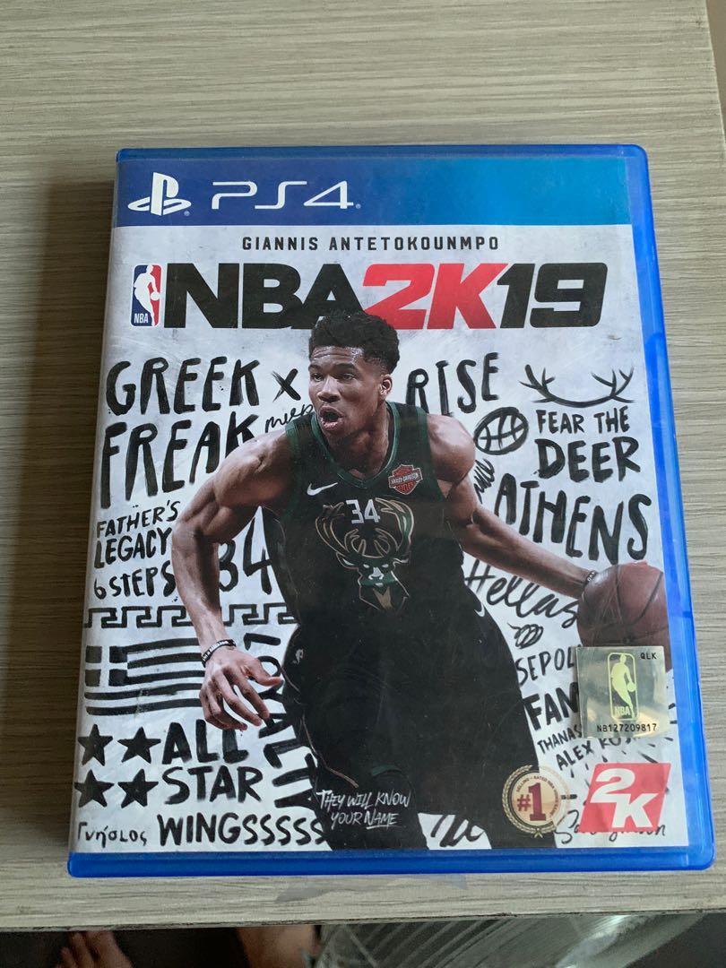 PS4 NBA 2K19 2019 Games Original Second CD Kaset PS 4 Playstation 4 BD Mulus