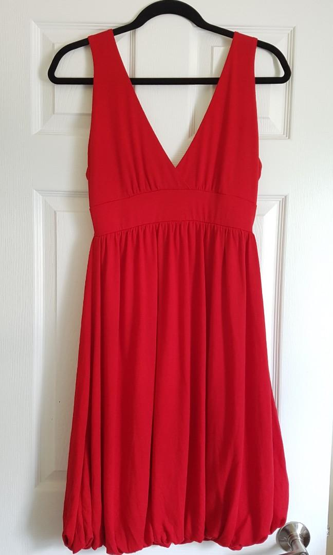 Red dress, size M
