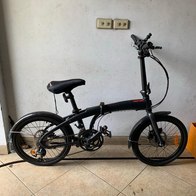 Sepeda Lipat – United Folding Bike Orion 20-inch Black