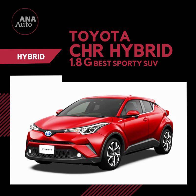 Toyota CHR Hybrid G 1.8