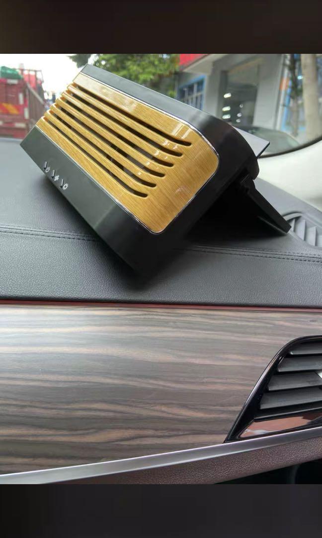 車用漩渦散熱排氣扇、太陽能+USB兩用