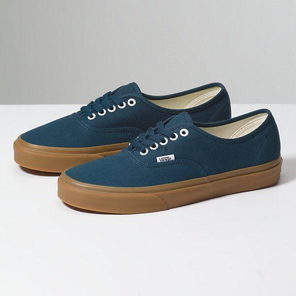 vans authentic reflecting pond/gum, Women's Fashion, Footwear ...
