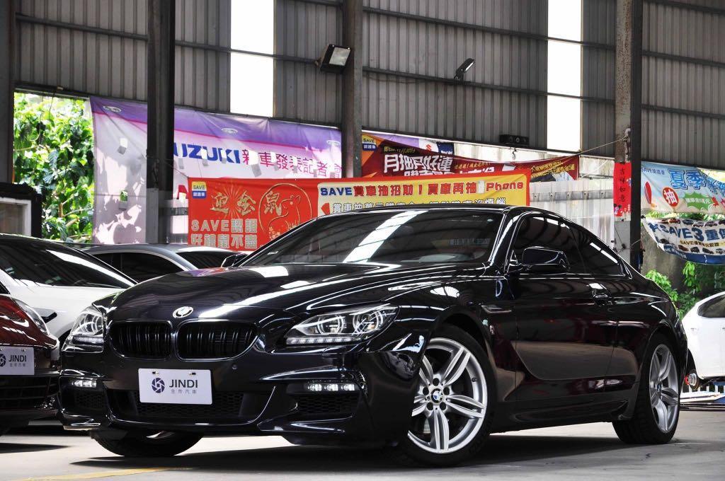 「阿部寬嚴選」2014 BMW 6-Series 650i Coupe M-Sport 暗夜藍 車道偏移 盲點 抬頭 環景 導航 HK音響 天窗 超級大滿配!
