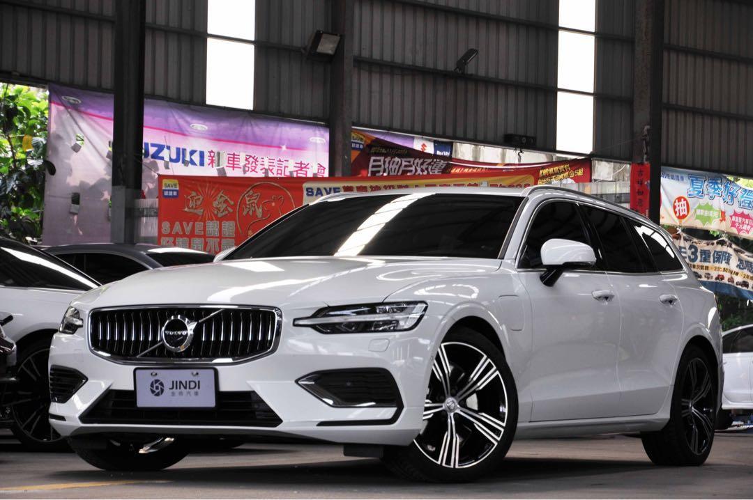 「阿部寬嚴選」2020 Volvo V60 T6 Inscription 白色 多項配備 油電動力 總代理