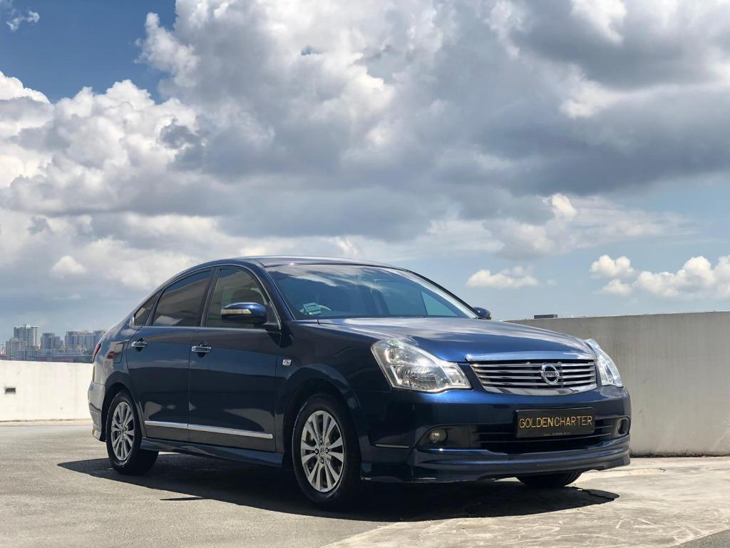 27/08 Call Jenny 8615 8615 Most Affordable Nissan Sylphy for Rent! While Stocks Last ! Promotion: Up to 14 days free rental ! Readily Available for Personal Usage, PHV, Go-Jek Rebate, Grab ! Rent Car ! Car Rental ! Cheap Rental Car !