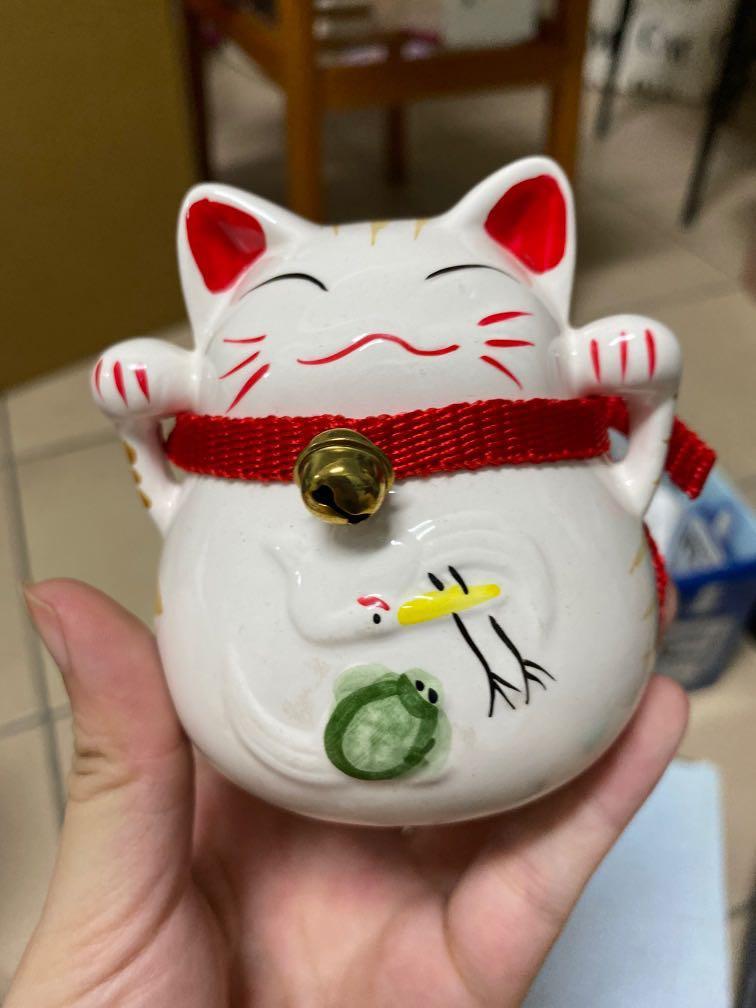 全新貓咪存錢筒