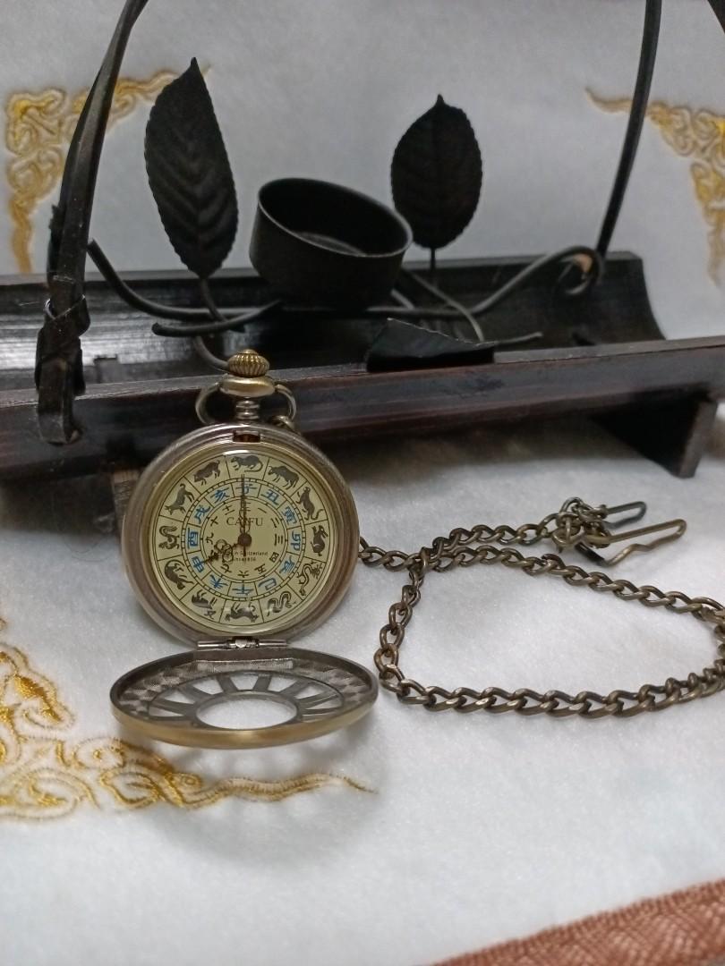 💟全新手上鏈機械懷錶💟