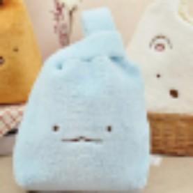 全新✨✨角落生物( 藍色)絨毛手提包