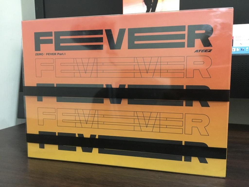 空專 ATEEZ ZERO : FEVER Part.1 INCEPTION VER.