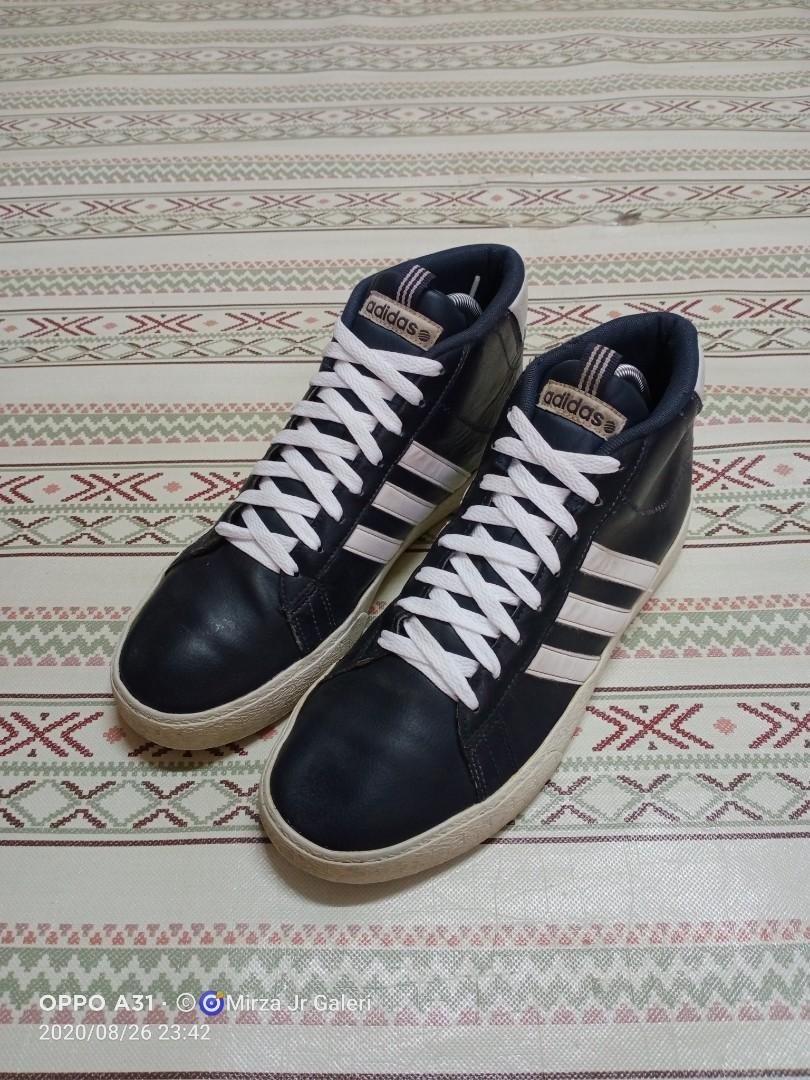 Adidas Neo Mid Leather, Men's Fashion