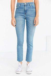 Aritzia bdg girlfriend high rise cropped jeans denim