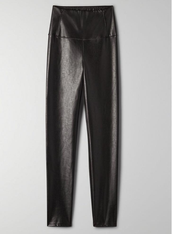 ARITZIA DARIA LEATHER LEGGING