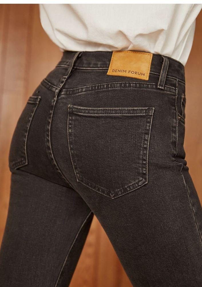 Aritzia Denim Forum Yoko High Rise Slim 25