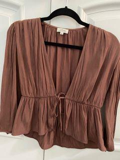 Aritzia Wilfred Blouse Size Small