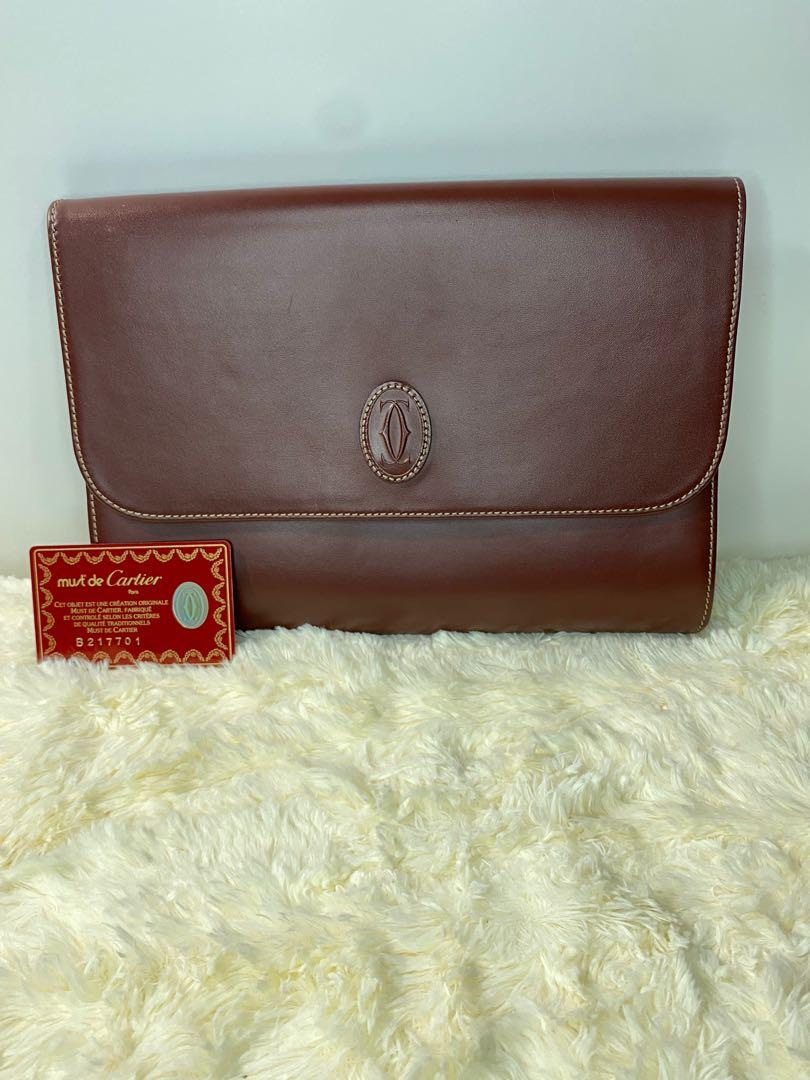 Authentic Cartier Mastline Pouch