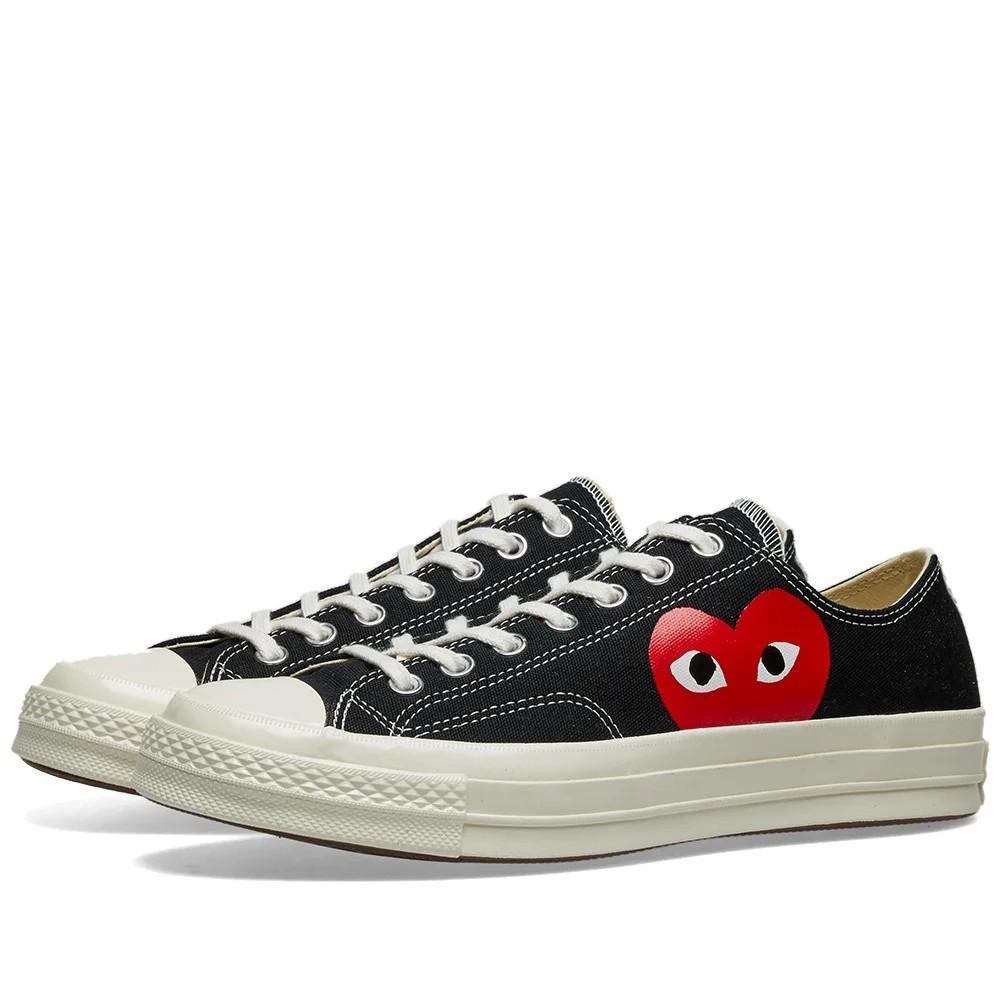 💯Authentic CDG X PLAY Converse Chuck