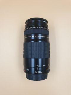 Canon EF 75-300mm F4-5.6 USM Telephoto Zoom Lens