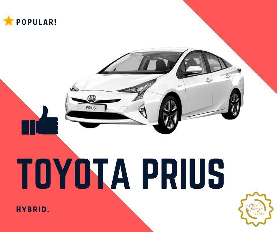 CAR RENTAL PROMOTION -  TOYOTA PRIUS HYBRID AND MORE!