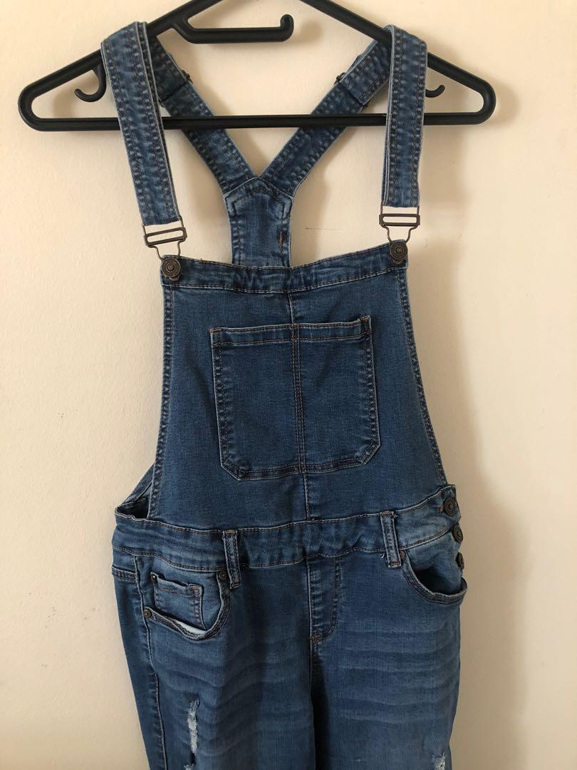 Denim overalls medium