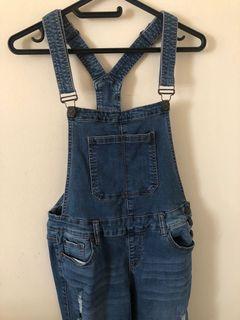 Denim overalls medium