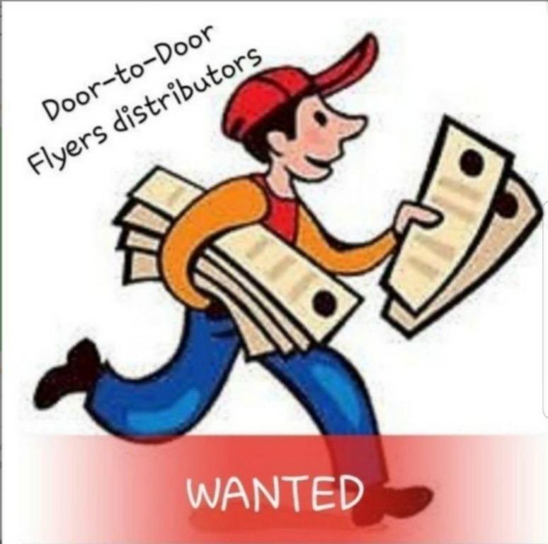 Door to door HDB flyers distributor