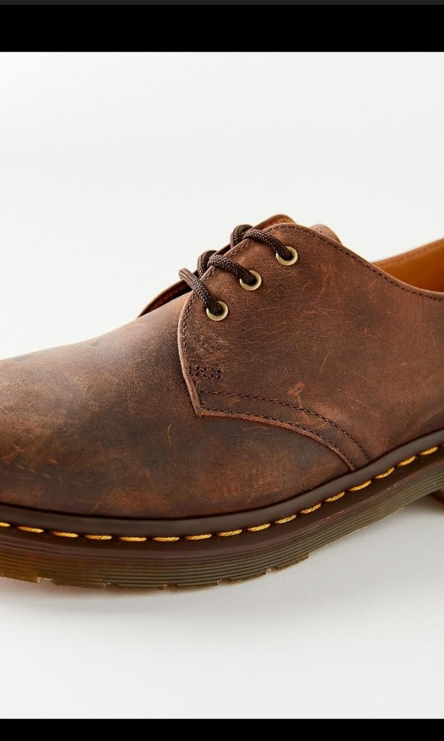 dr. martens 1461 crazy horse leather oxford