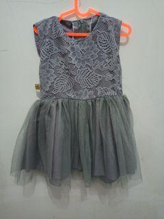 Dress Tutu baby 2-3 tahun
