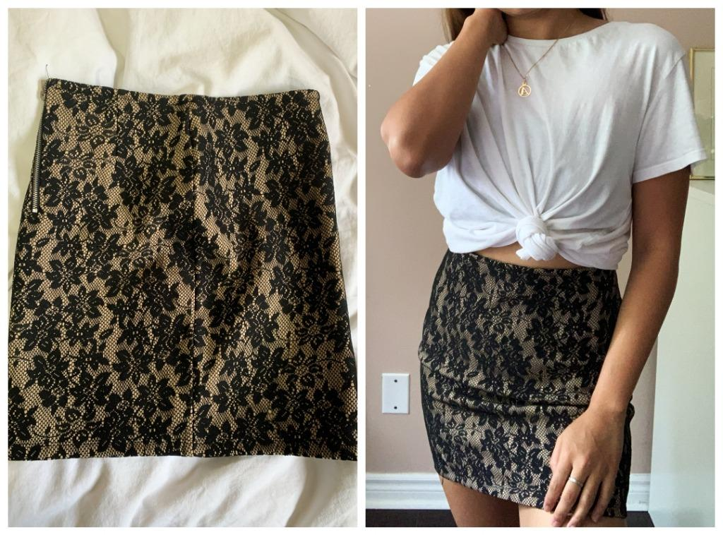 Forever 21 Mini Bodycon Skirt