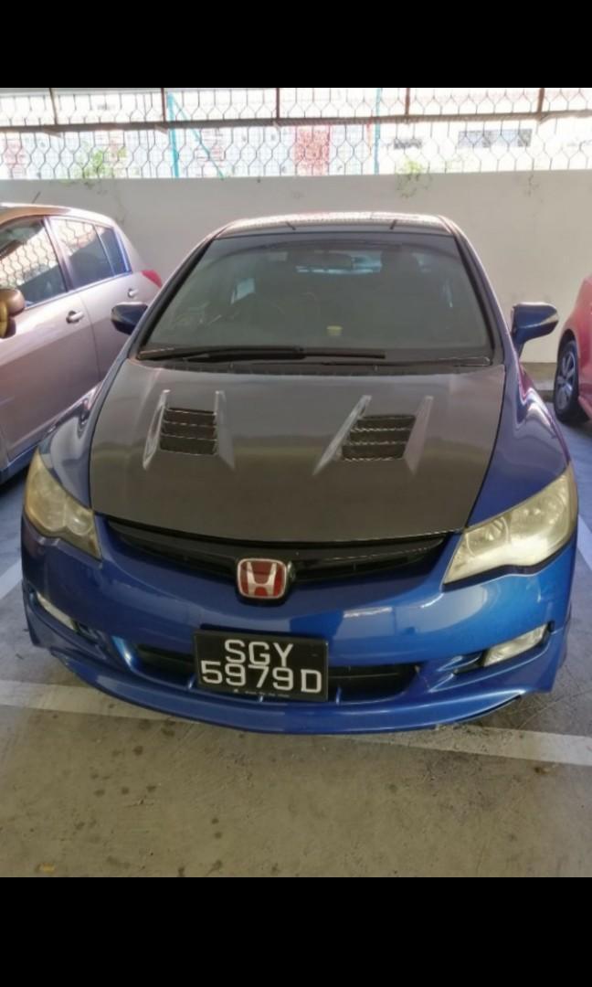 Honda Civic 1.8A × weekend car rental