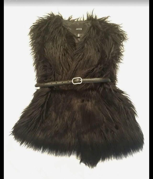 JACOB - Faux Fur Vest
