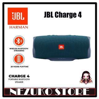 JBL Charge 4 Bluetooth Portable Stereo Speaker Waterproof Blue