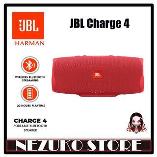 JBL Charge 4 Bluetooth Portable Stereo Speaker Waterproof Red