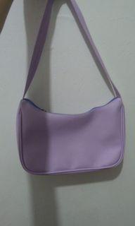 Lilac shoulder bag vintage