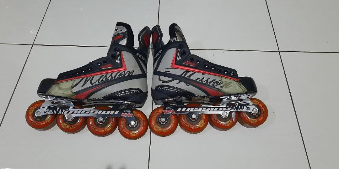 Mission Assassin SE Inline skates/sepatu roda profesional