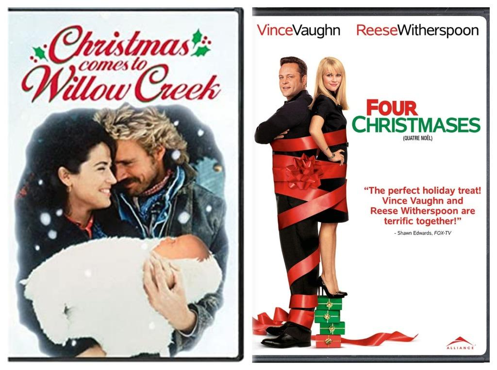 Mixed Christmas Movie DVD's
