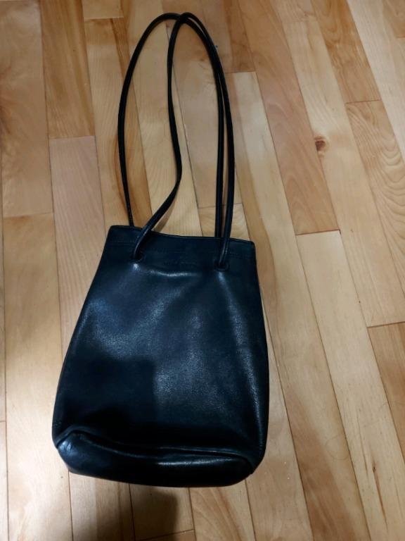 NINE WEST hand bag - Black, genuine leather